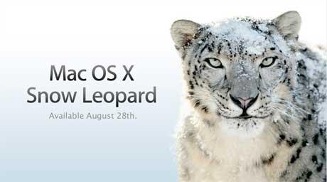 Actualización a Mac OS X Snow Leopard
