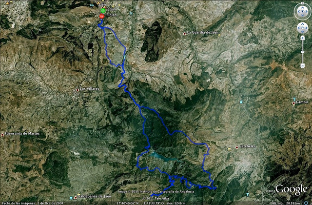 ruta 4x4 al pantano del quiebrajano