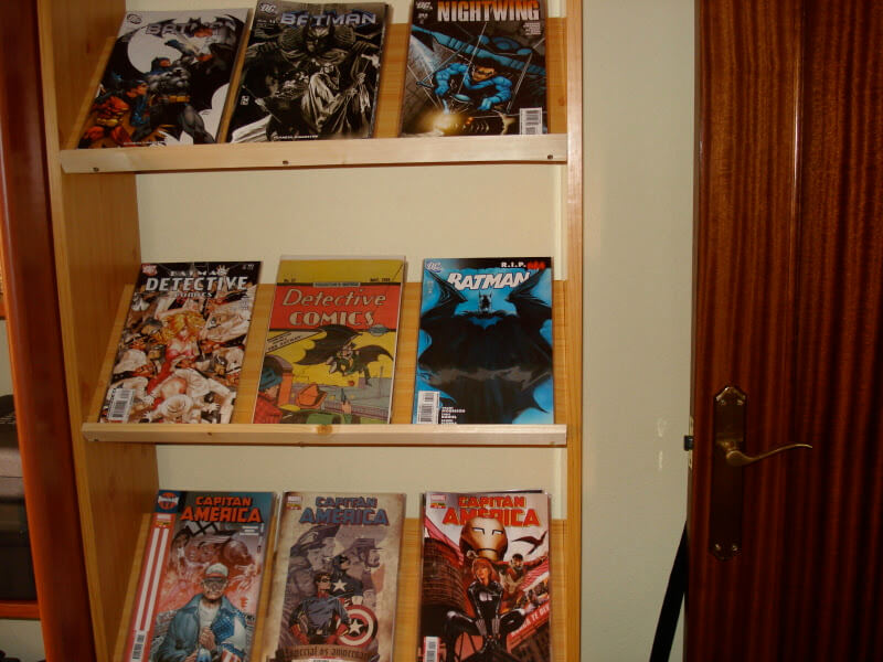 estantería para los cómics