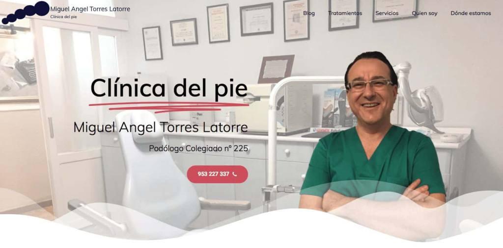 Miguel Ángel Torres Latorre podólogo